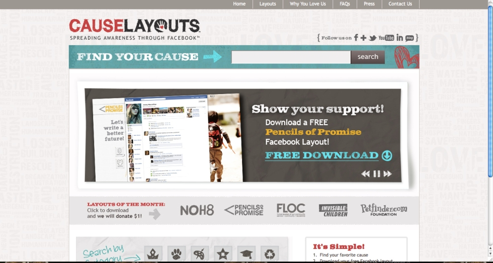 causelayouts.com